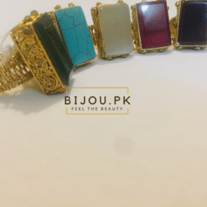 Beaut Ethnic Stoned Rings for women