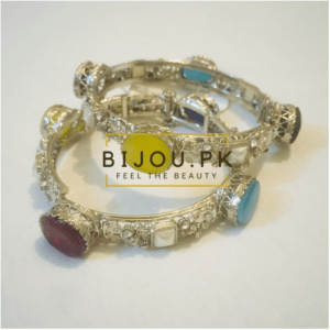 traditional ethnic stoned bangle with free delivery in pakistan
