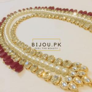 Precious Kundan Mala Necklace Online Shopping in Pakistan
