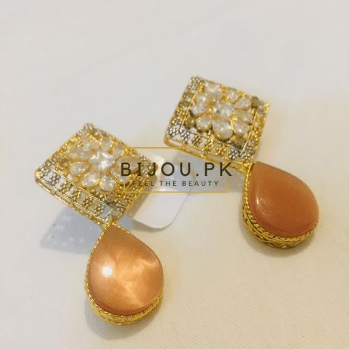 Zircone Ear Studs for women online shopping in Pakistan