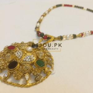 Ladies Ethnic Pendant Mala Necklace