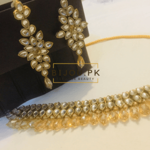 kundan choker set for women in pakistan