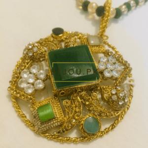 Medieval Emerald Pendant