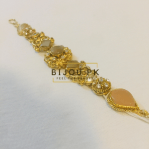 Ethnic Champagne Stoned Bracelet in Karachi