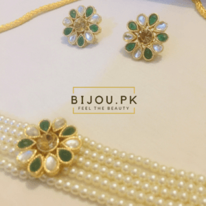 Pearl choker set for women in Karachi, Pakistan